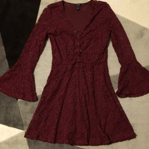 GUC Red Lace Dress